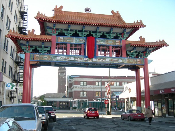 International District Chinese Entrance