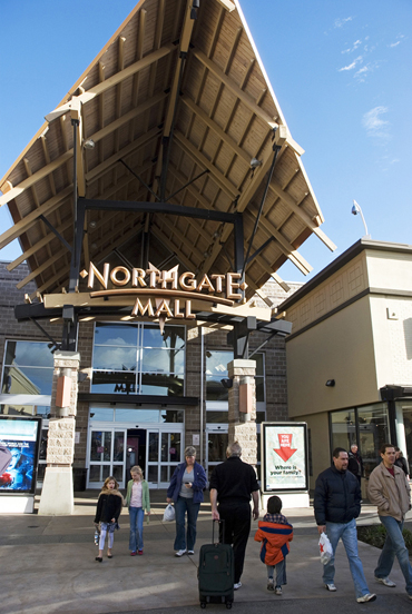 Northgate Mall Entrance